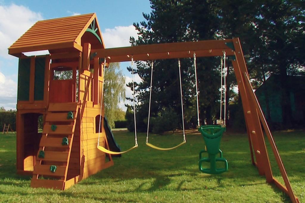 Детская площадка из своими руками дерева
